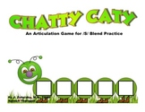 CHATTY CATY An Articulation Game for /S/ BLEND Practice- Speech Therapy