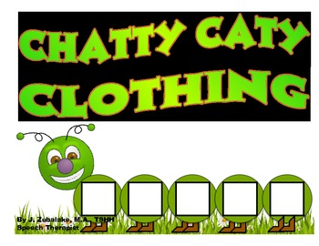 CHATTY CATY CLOTHING- Speech Therapy