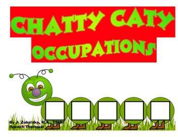 CHATTY CATY OCCUPATIONS- Speech Therapy