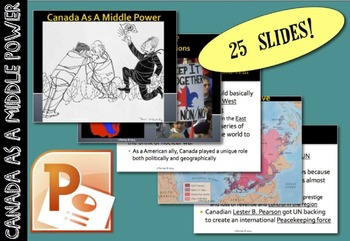 CHC2P CHC2D Cold War: Canada as a Middle Power