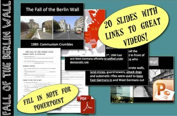 CHC2P CHC2D Cold War: Fall of the Berlin Wall