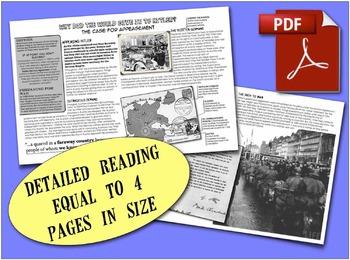 CHC2P CHC2D World War Two: Appeasing Hitler