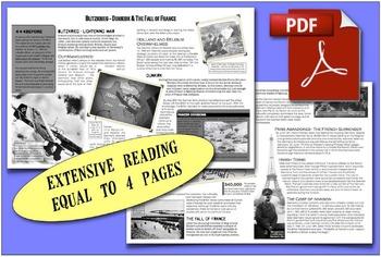 CHC2P CHC2D World War Two: Blitzkrieg