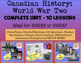 CHC2P CHC2D World War Two: Entire Unit