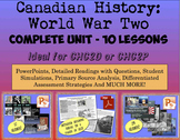 CHC2P CHC2D World War Two: Entire Unit