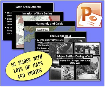 CHC2P CHC2D World War Two: Key Battles of World War Two