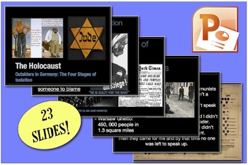 CHC2P CHC2D World War Two: Stages of the Holocaust