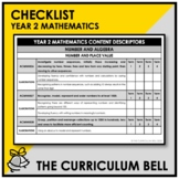CHECKLIST | AUSTRALIAN CURRICULUM | YEAR 2 MATHEMATICS