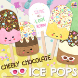 CHEEKY CHOCOLATE POPSICLES - ICE POPS - editable student g