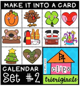 CHEEKY MYO Calendar Cards #2 (P4 Clips Trioriginals)