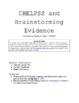 CHELPS Evidence Brainstorming PPT and Worksheet Bundle