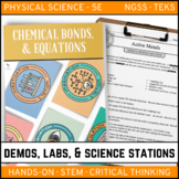 CHEMICAL BONDS AND EQUATIONS - Demo, Labs and Science Stations