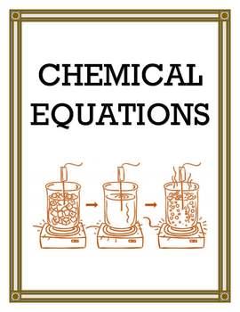 CHEMICAL EQUATIONS UNIT