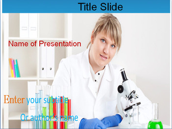 CHEMICAL RESEARCH POWERPOINT TEMPLATE