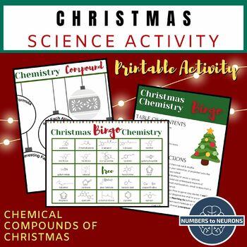 CHEMISTRY BINGO GAME - Christmas Molecules