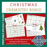 CHEMISTRY BINGO GAME - Christmas Molecules