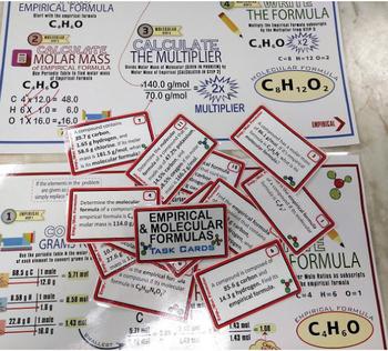 468 Task Cards & 5 Mastery Mats~BIG CHEMISTRY BUNDLE~16 Complete Sets