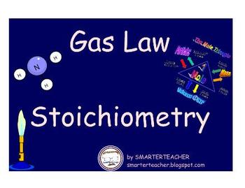 CHEMISTRY - Gas Law Stoichiometry PDF