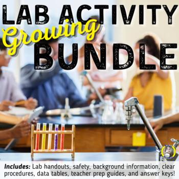 GROWING Chemistry Lab BUNDLE - 15 Experiments, Lab Report
