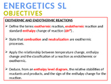 CHEMISTRY NOTES ON ENERGETICS 1