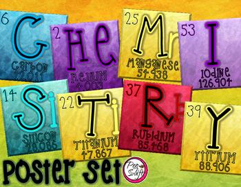 CHEMISTRY Poster Set