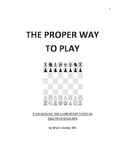 CHESS GUIDE FOR ELEMENTARY SCHOOL TEACHERS AND PARENTS