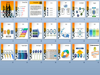 CHESS PPT TEMPLATE