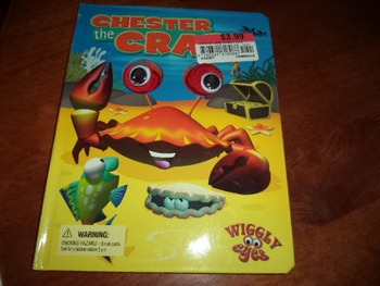 CHESTER THE CRAB         ISBN 978-1-7418-4449-8