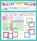 CHEVRON Digital Papers and Frames Mega Pack