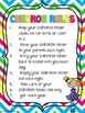 C.H.E.V.R.O.N. Folder Parent Communication Tool {BRIGHTS}