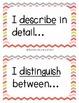 Academic Vocabulary Anchor Charts Sentence Frames K-8 CHEVRON