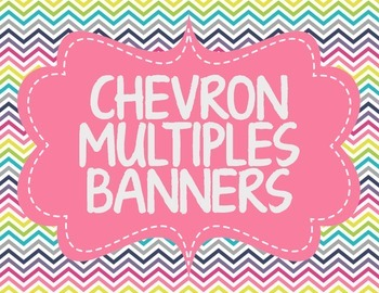 CHEVRON MULTIPLES BANNERS