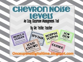 CHEVRON Noise/Volume Levels for Classroom Management