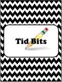CHEVRON Teacher Binder Dividers EDITABLE!