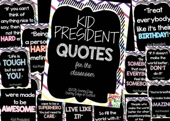 CHEVRON and POLKA DOT Inspirational Quotes BUNDLE