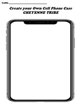 CHEYENNE TRIBE CREATE YOUR OWN CELL PHONE COVER