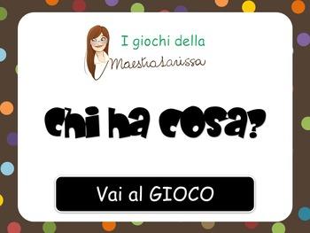CHI HA COSA? - videogioco