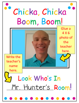 CHICKA, CHICKA BOOM BOOM CLASS PHOTO/PORTRAIT BOOK