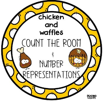 CHICKEN AND WAFFLES COUNT the ROOM & NUMBER MATCH