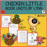 CHICKEN LITTLE BOOK UNIT