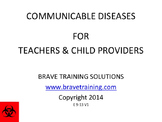 CHILDHOOD COMMUNICABLE DISEASES POWERPOINT  PRESENTATION