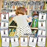 CHILDREN'S AUTHOR STUDIES ~ Mini BIOGRAPHIES ~ Close Reads