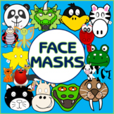 CHILDREN'S FACE MASKS AND PUPPETS -ROLE PLAY DRAMA
