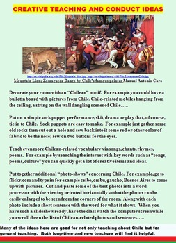 CHILE (FUN ACTIVITIES, COMMON CORE, 83 PAGES BARGAIN)