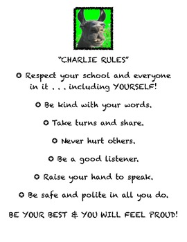 """CHILLIN' CHARLIE"" Will Chill Student Behavior"