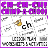 {consonant digraphs worksheets} {ch blend} {ch digraph lesson plan}
