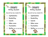 CHIMPS writing checklist