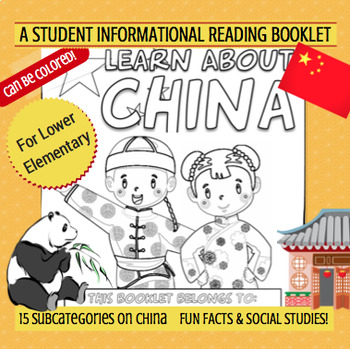 CHINA - Learn About China – A 17 Page Student Informationa