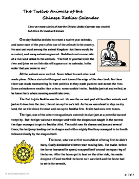 CHINA Activities and Zodiac Calendar Myth
