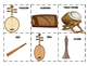 CHINESE INSTRUMENTS - FLASH CARDS/GAMES